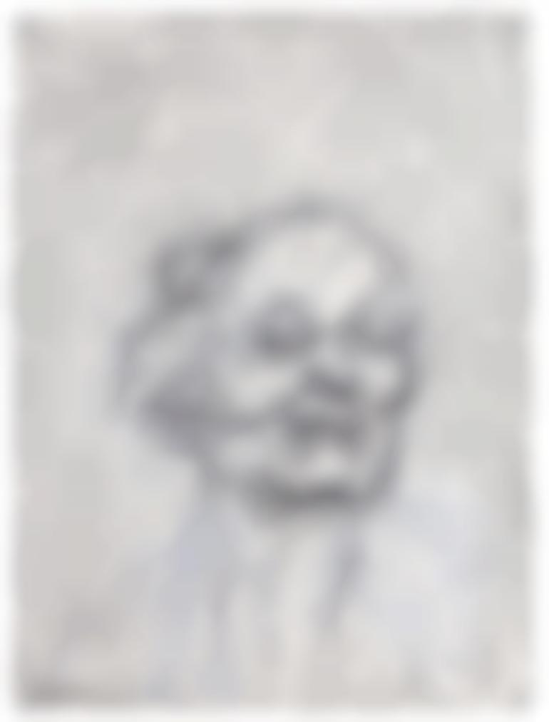 Frank Auerbach-Self Portrait V-2018