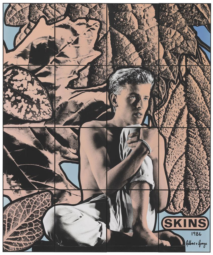 Gilbert and George-Skins-1986