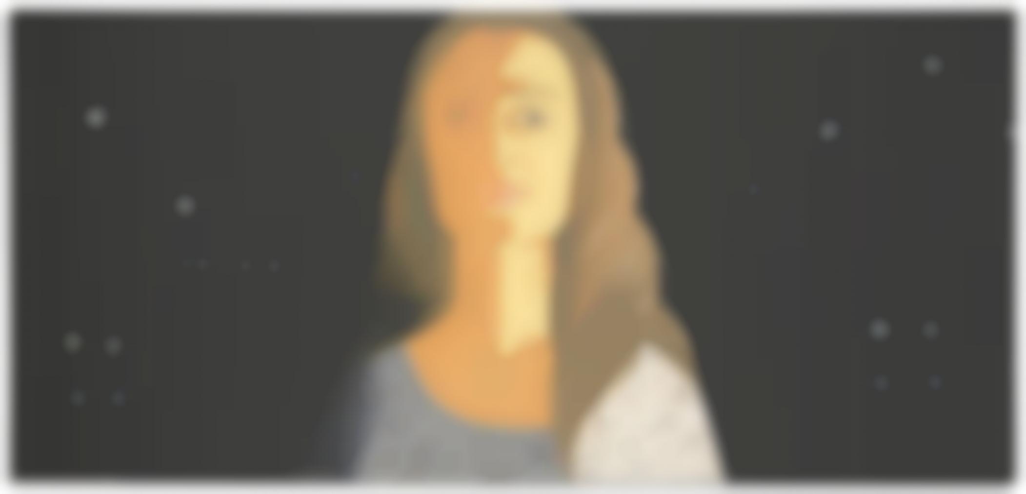 Alex Katz-Maria At Night-1998