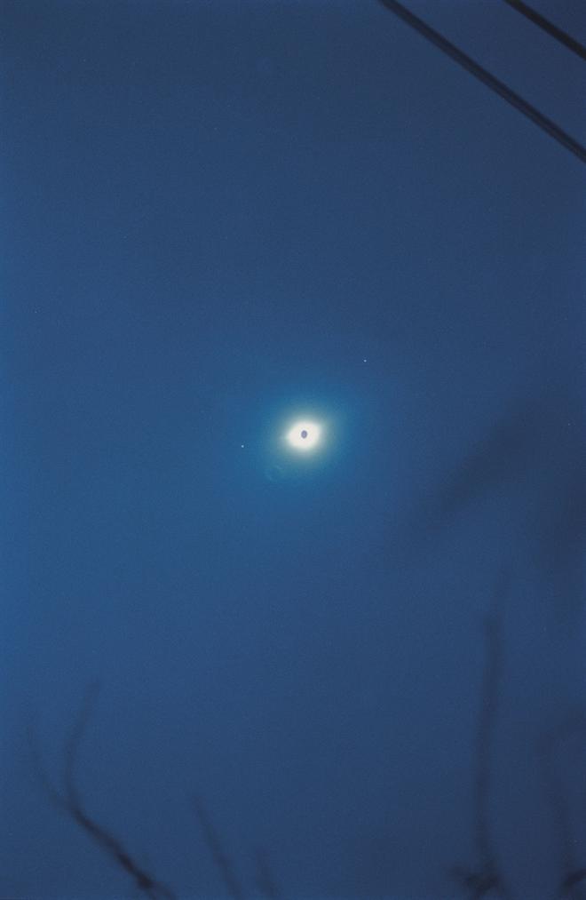 Wolfgang Tillmans-Total Solar Eclipse Aruba-1998