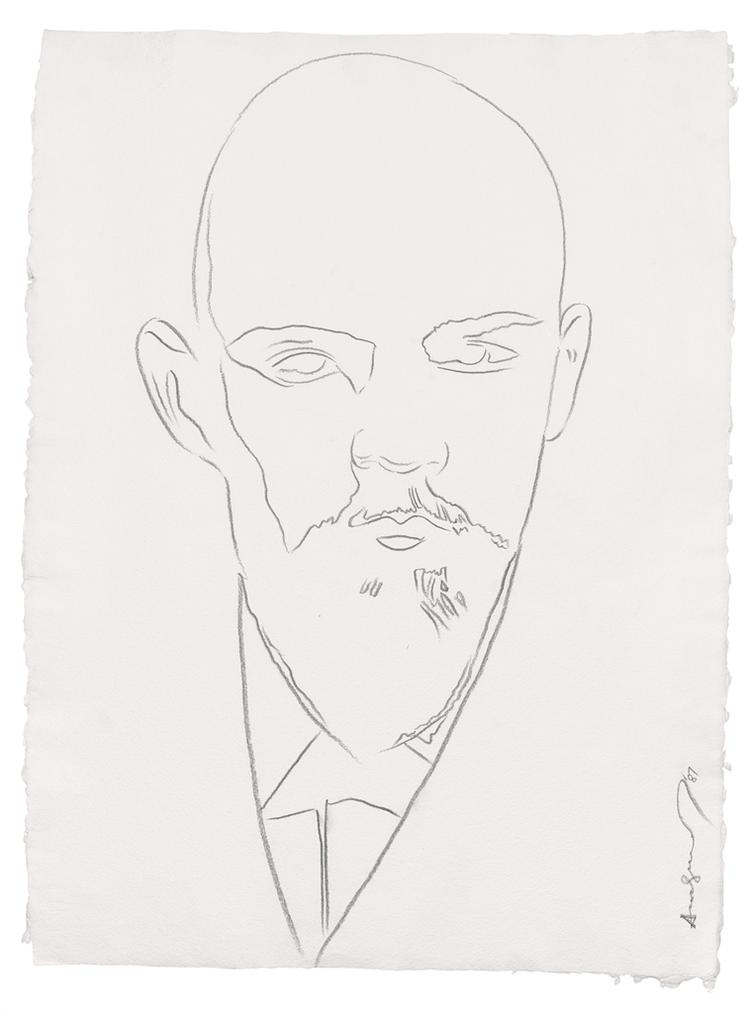 Andy Warhol-Lenin-1987