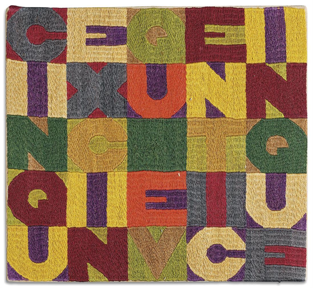 Alighiero Boetti-Cinque Per Cinque Venticinque (Five By Five Twenty-Five)-1988