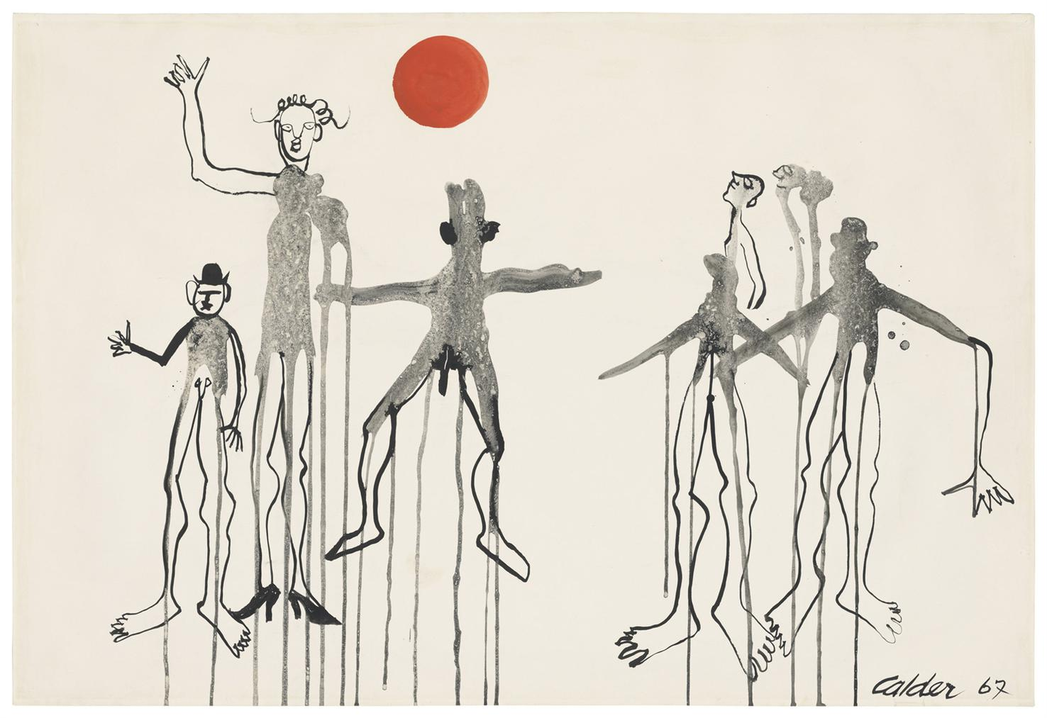 Alexander Calder-Les Pantins-1967