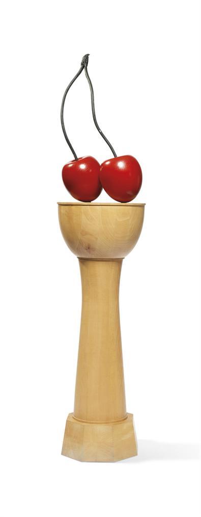 Thomas Schutte-Kirschensaule, Modell 1:5 (Cherry Column, Model 1:5)-1987