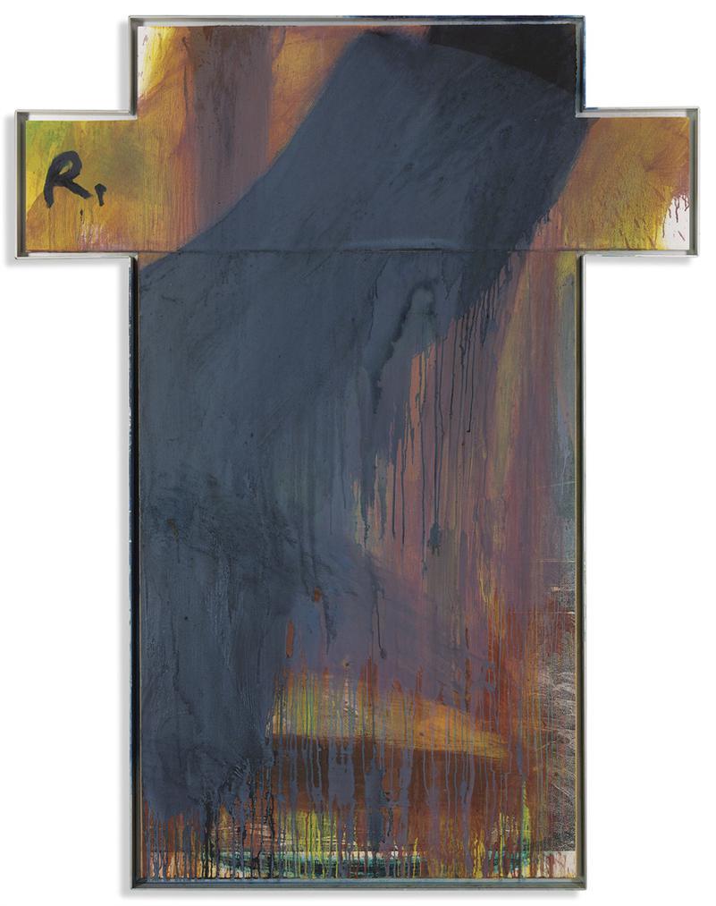 Arnulf Rainer-Kreuzbild (Cross)-1993