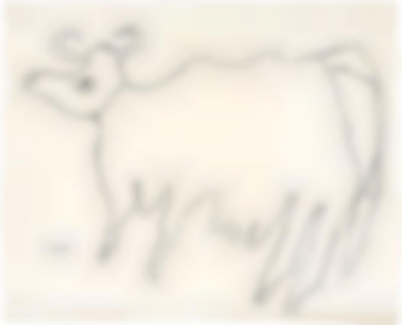 Jean Dubuffet-Vache (Cow)-1954
