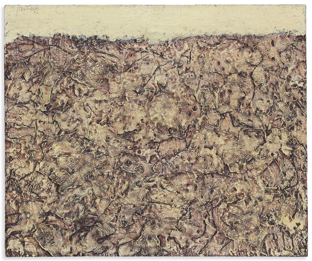 Jean Dubuffet-Expansion De Solitudes (Expansion Of Solitudes)-1952