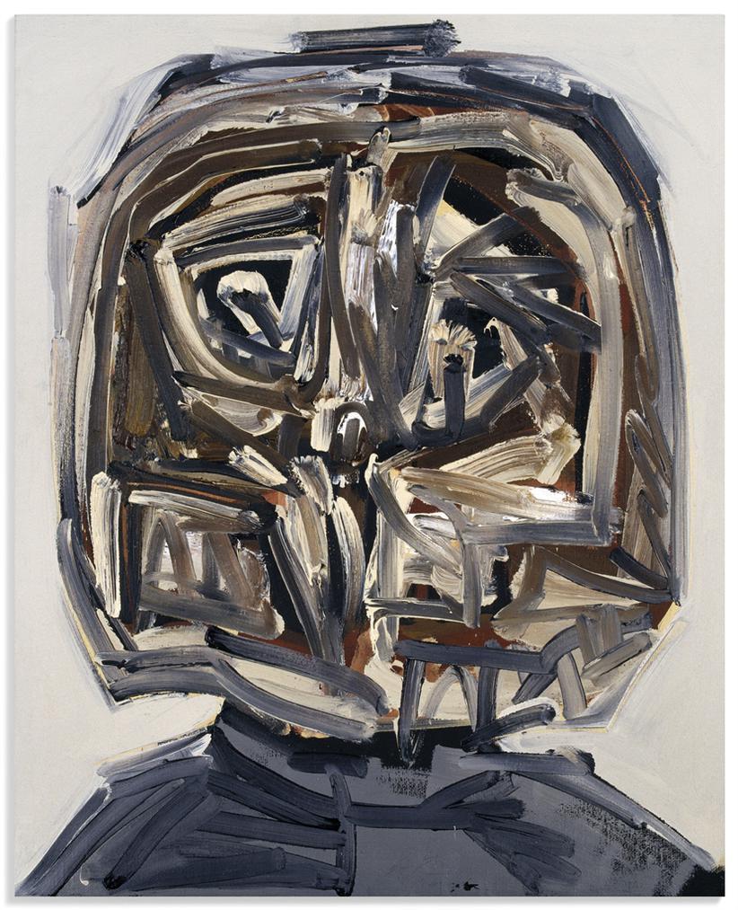 Antonio Saura-Portrait Imaginaire (Imaginary Portrait)-1990