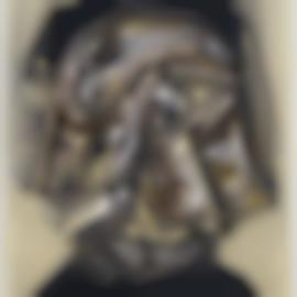 Antonio Saura-Portrait-1987