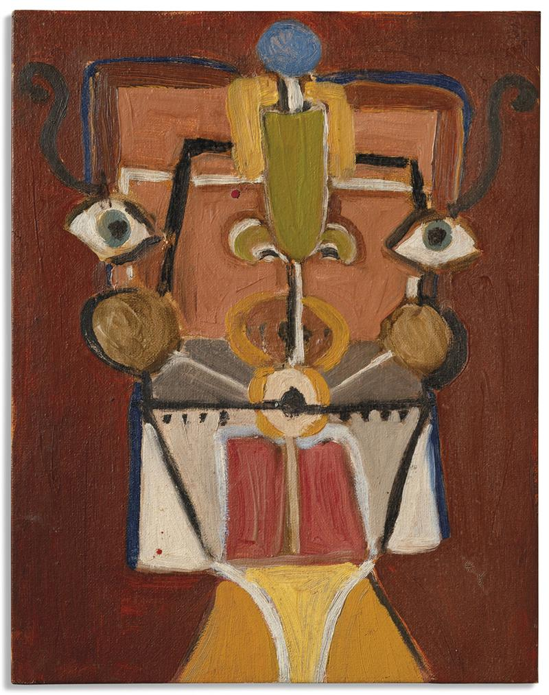 George Condo-Untitled-1984