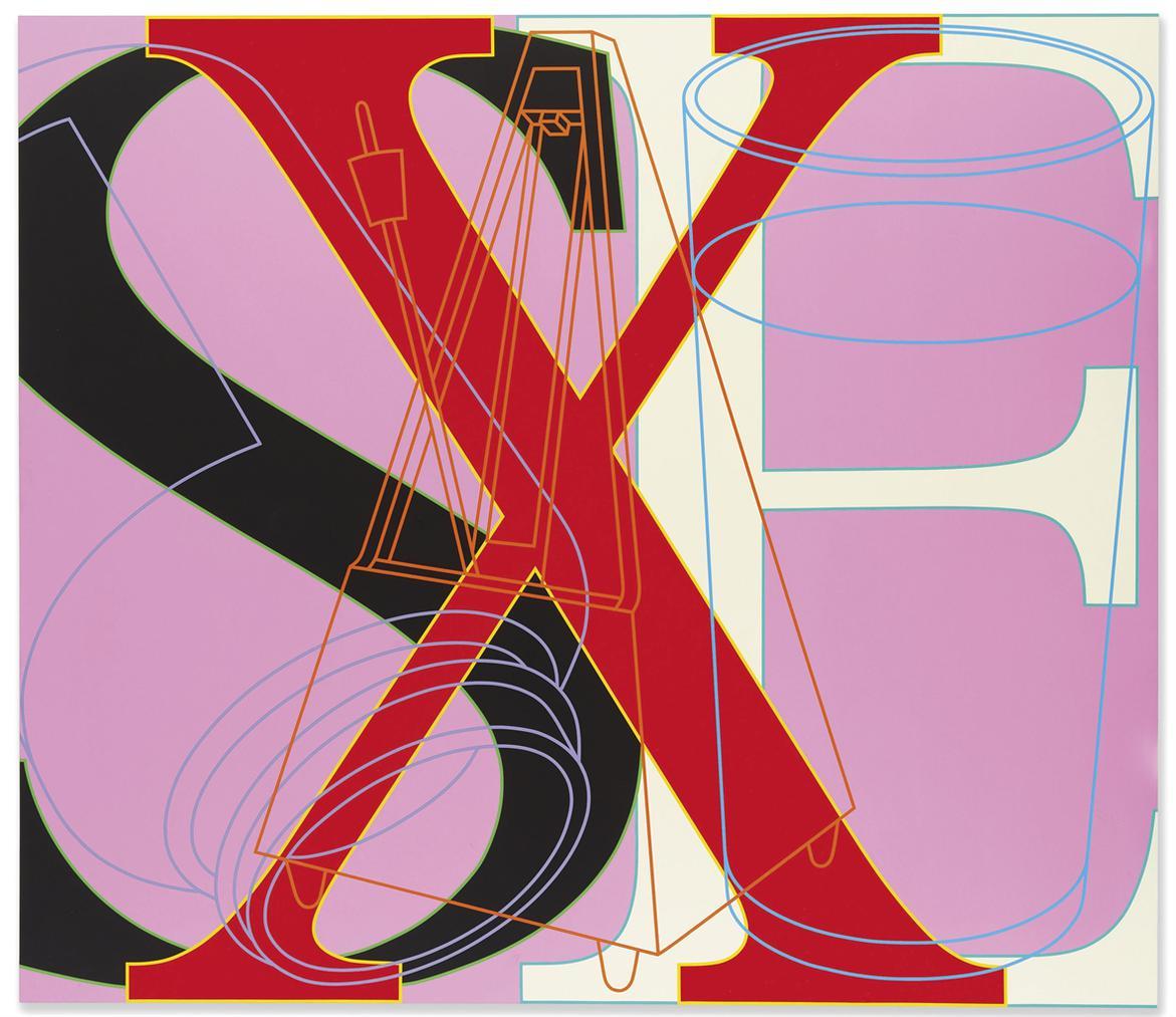 Michael Craig-Martin-Untitled (Sex)-2007