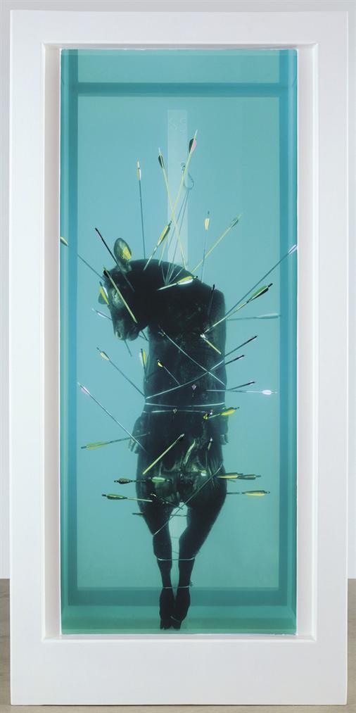 Damien Hirst-Saint Sebastian, Exquisite Pain-2007