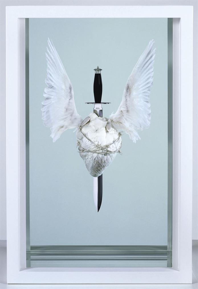 Damien Hirst-The Immaculate Heart; Sacred-2008
