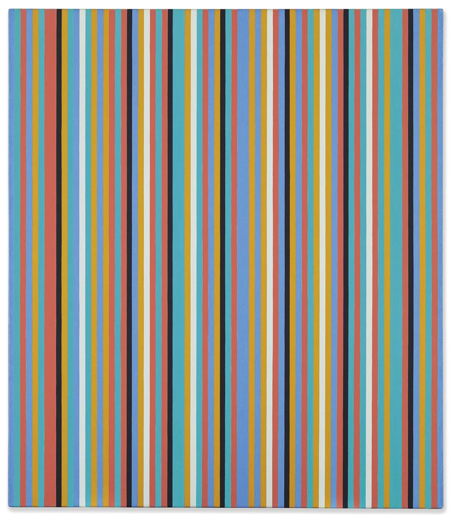 Bridget Riley-Songbird-1982