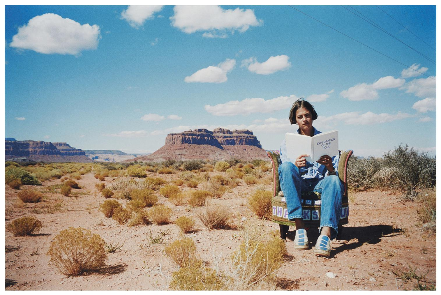 Tracey Emin-Outside Myself (Monument Valley)-1994