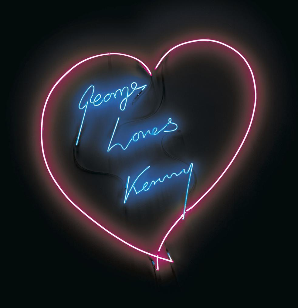 Tracey Emin-George Loves Kenny-2007