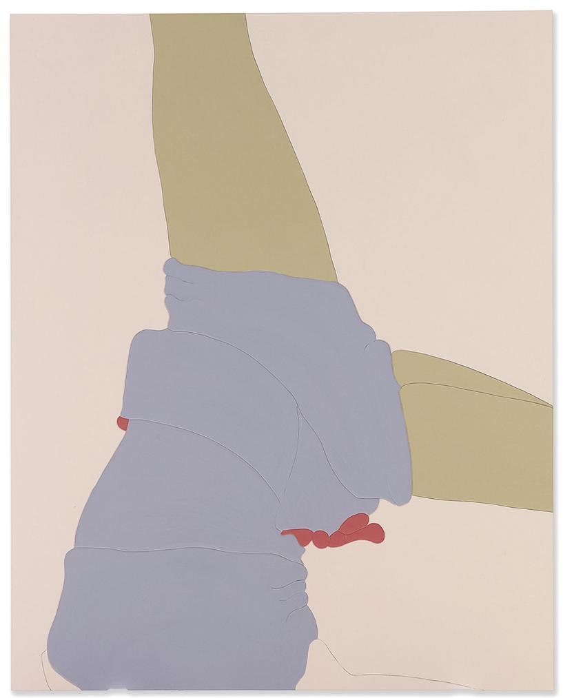 Gary Hume-American Tan XXIV-2007
