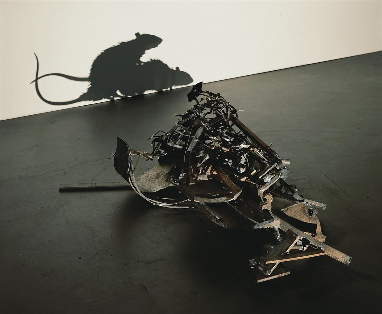 Tim Noble and Sue Webster-Metal Fucking Rats (Version Four)-2007