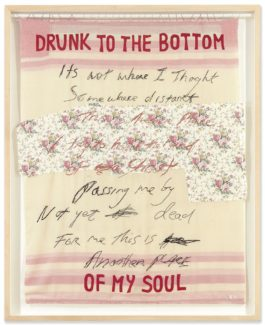 Tracey Emin-Drunk To The Bottom Of My Soul-2002
