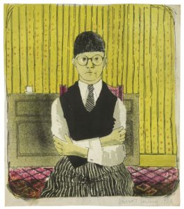 David Hockney-Self-Portrait-1954