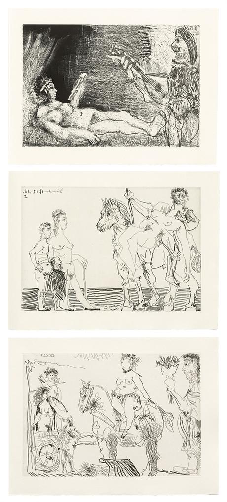 Pablo Picasso-Fernand Crommelynck, Le Cocu Magnifique-1968