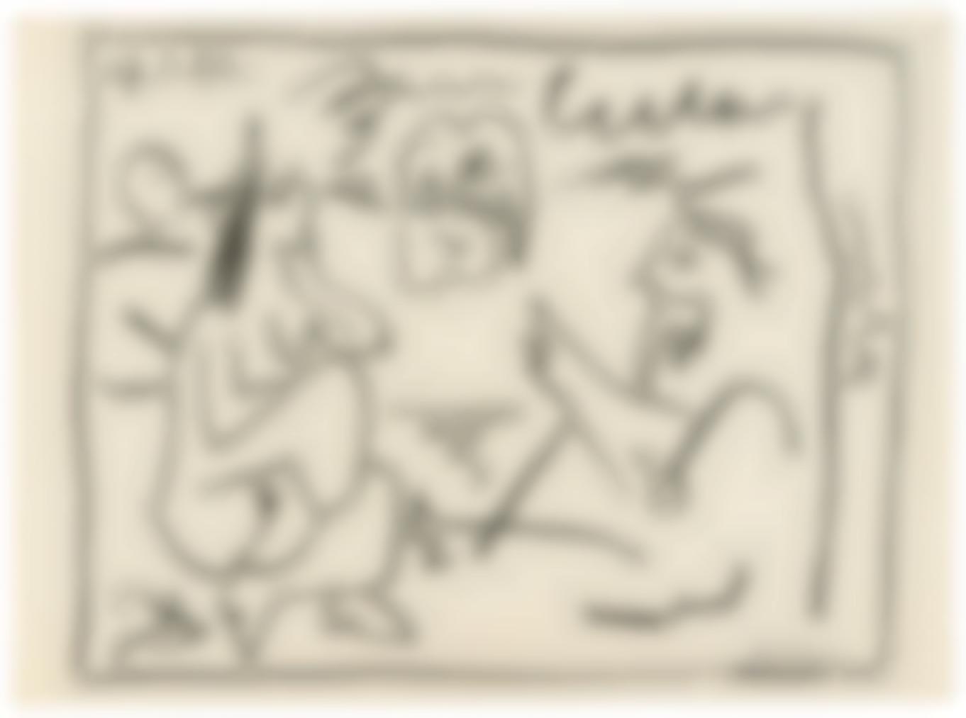 Pablo Picasso-Douglas Cooper: Pablo Picasso, Les Dejeuners-1962
