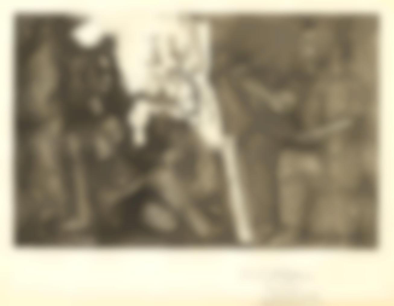 Pablo Picasso-Dans Latelier-1965