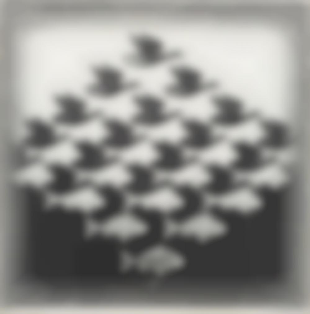 Maurits Cornelis Escher-Sky And Water I-1938