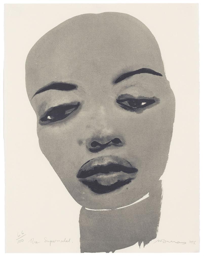 Marlene Dumas-The Supermodel-1995