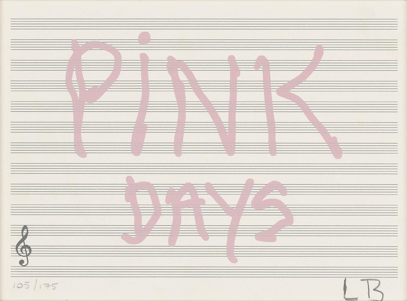 Louise Bourgeois-Untitled (Pink Days)-2008