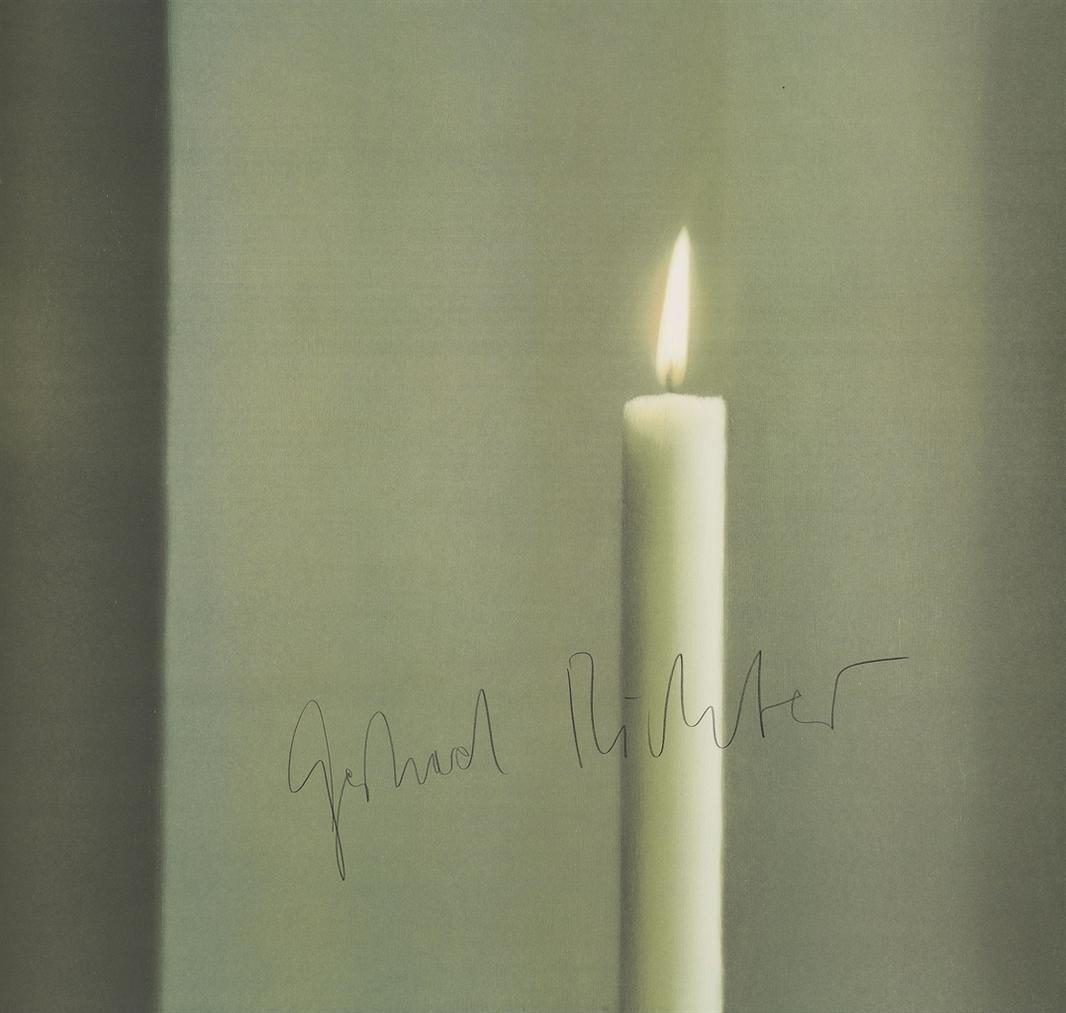 Gerhard Richter-Kerze I-1988