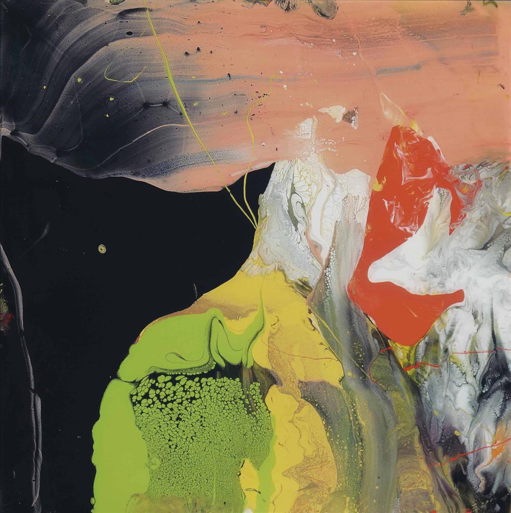 Gerhard Richter-Flow (P6)-2014