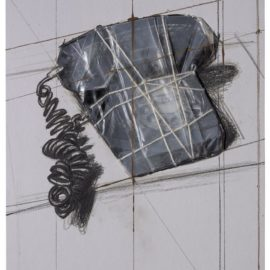 Christo and Jeanne-Claude-Wrapped Telephone, Project, From: 12 Years Of Galeria Joan Prats, 1976-1988-1988