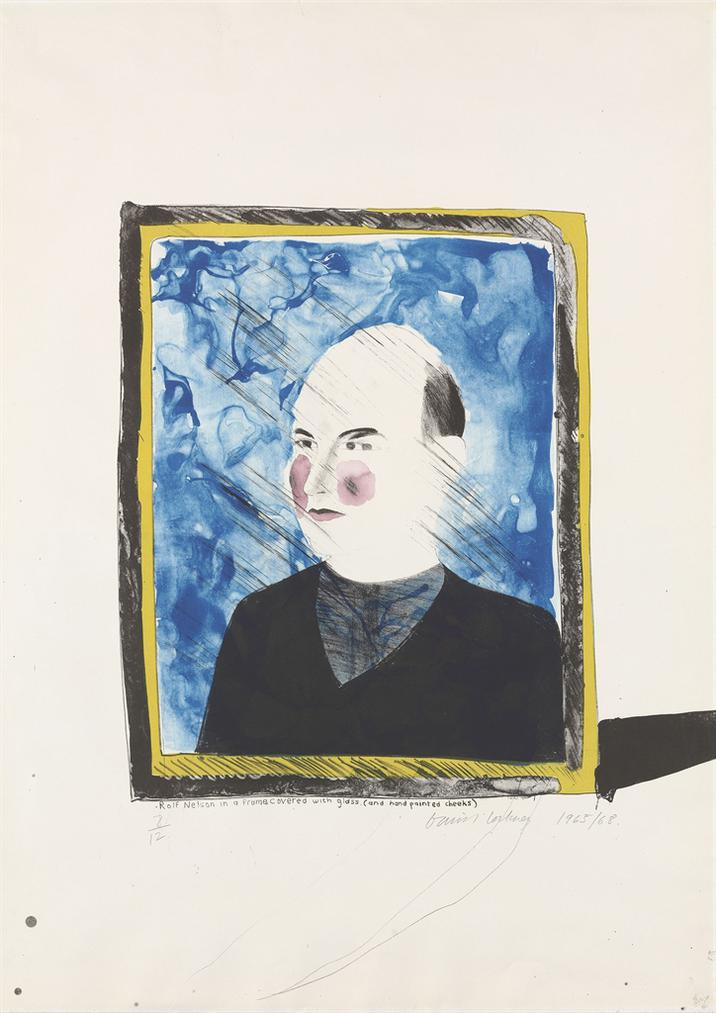 David Hockney-A Portrait Of Rolf Nelson-1968
