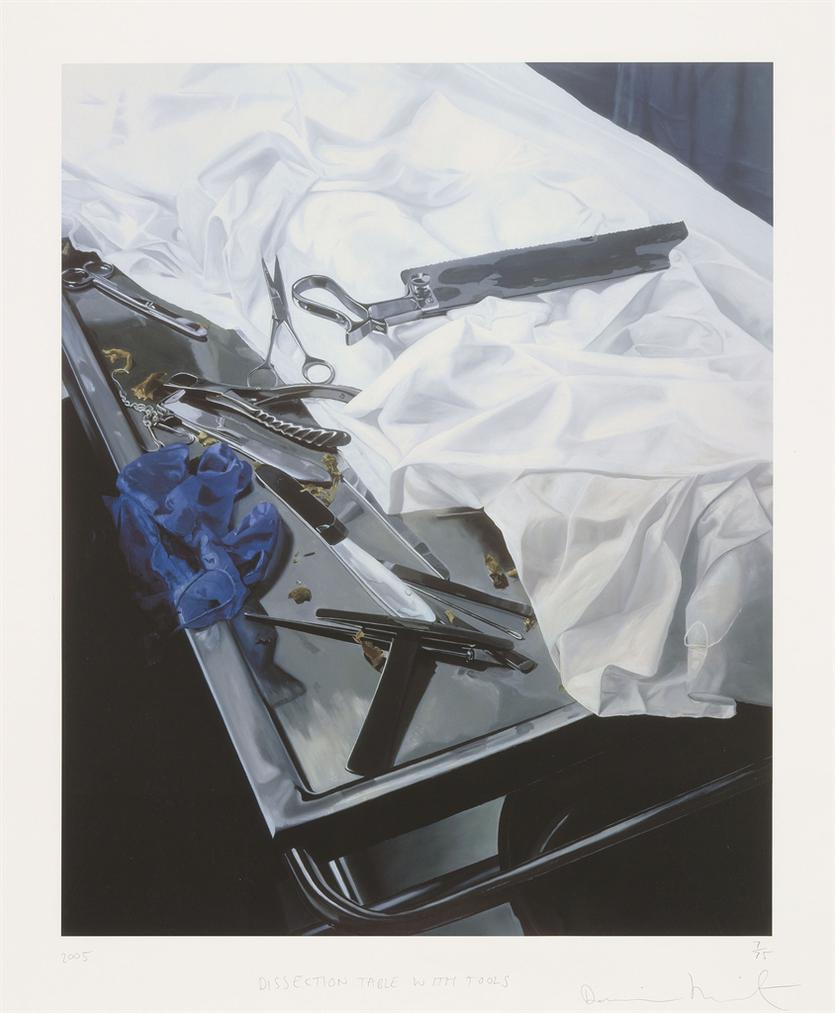 Damien Hirst-Dissection Table With Tools-2005