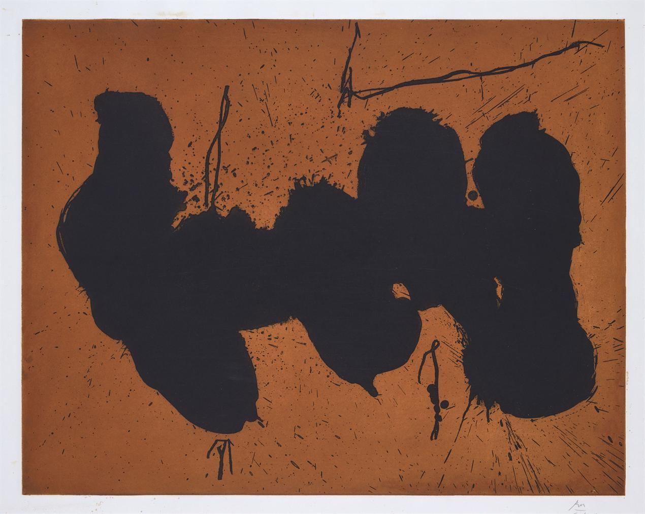 Robert Motherwell-Barcelona Elegy To The Spanish Republic-1991
