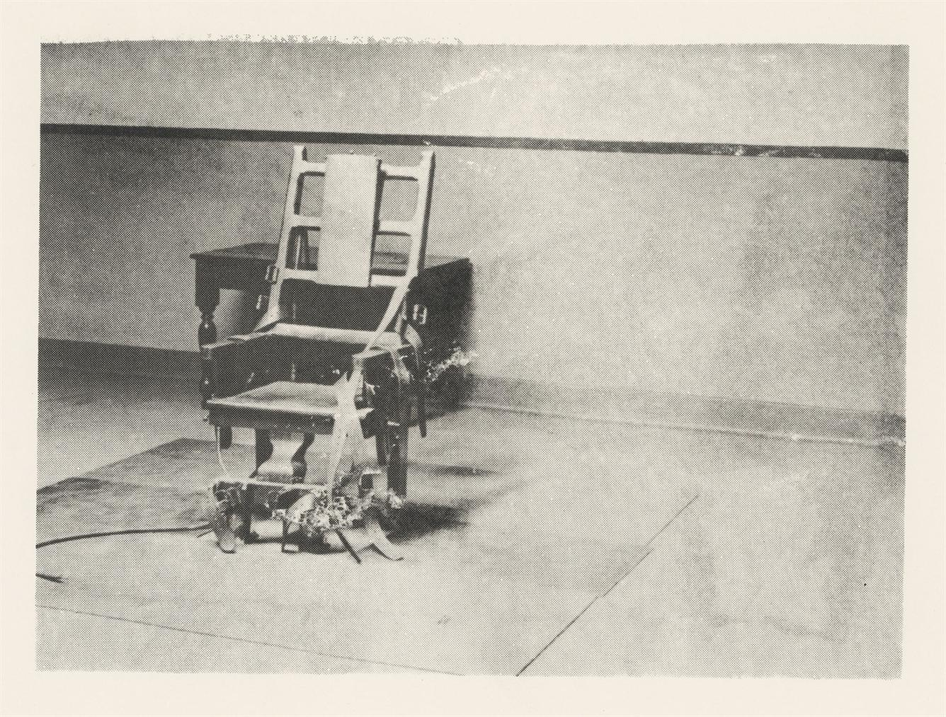 Andy Warhol-Electric Chair-1978