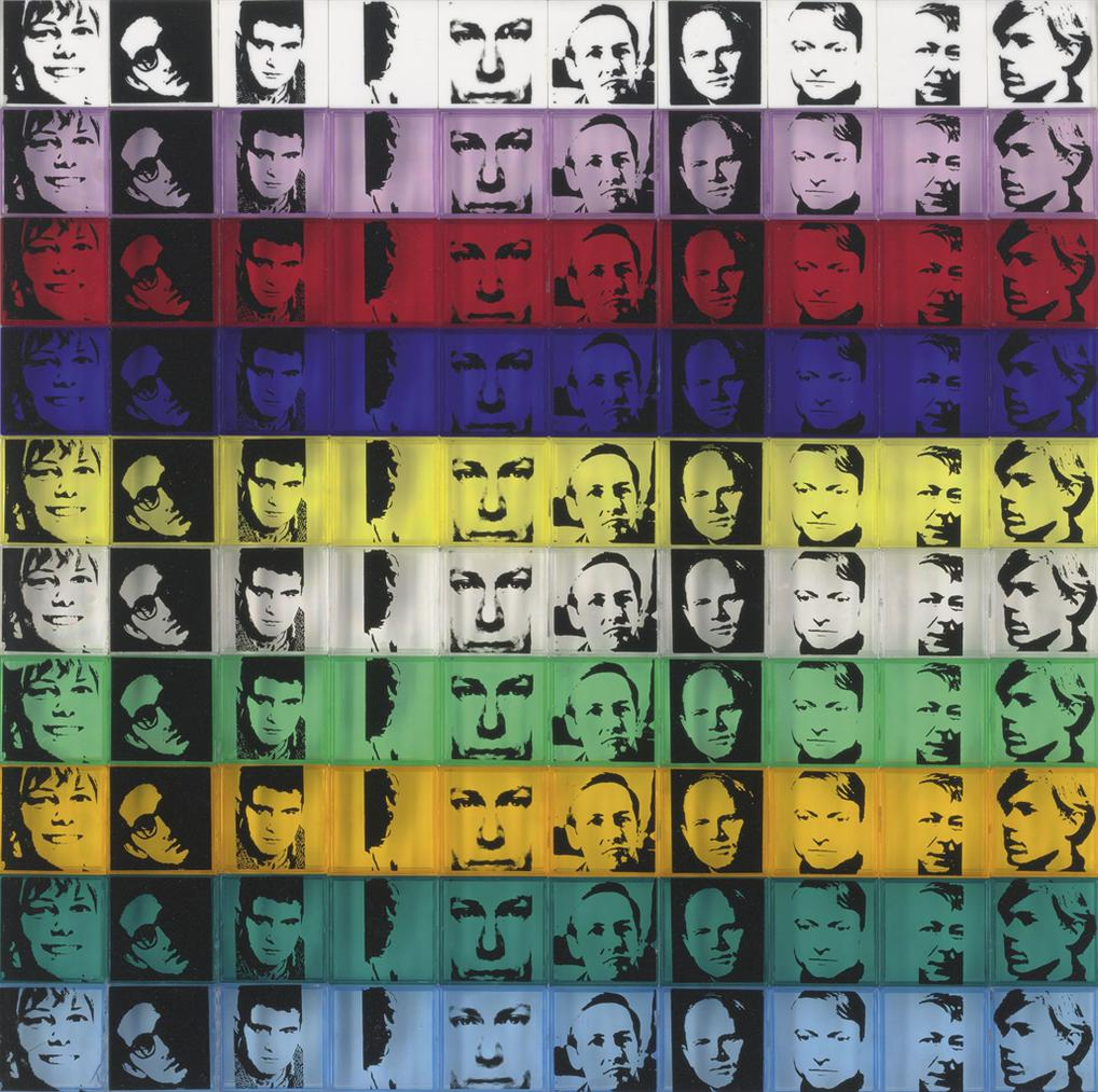 Andy Warhol-Portraits Of The Artists, From: Ten From Leo Castelli-1967