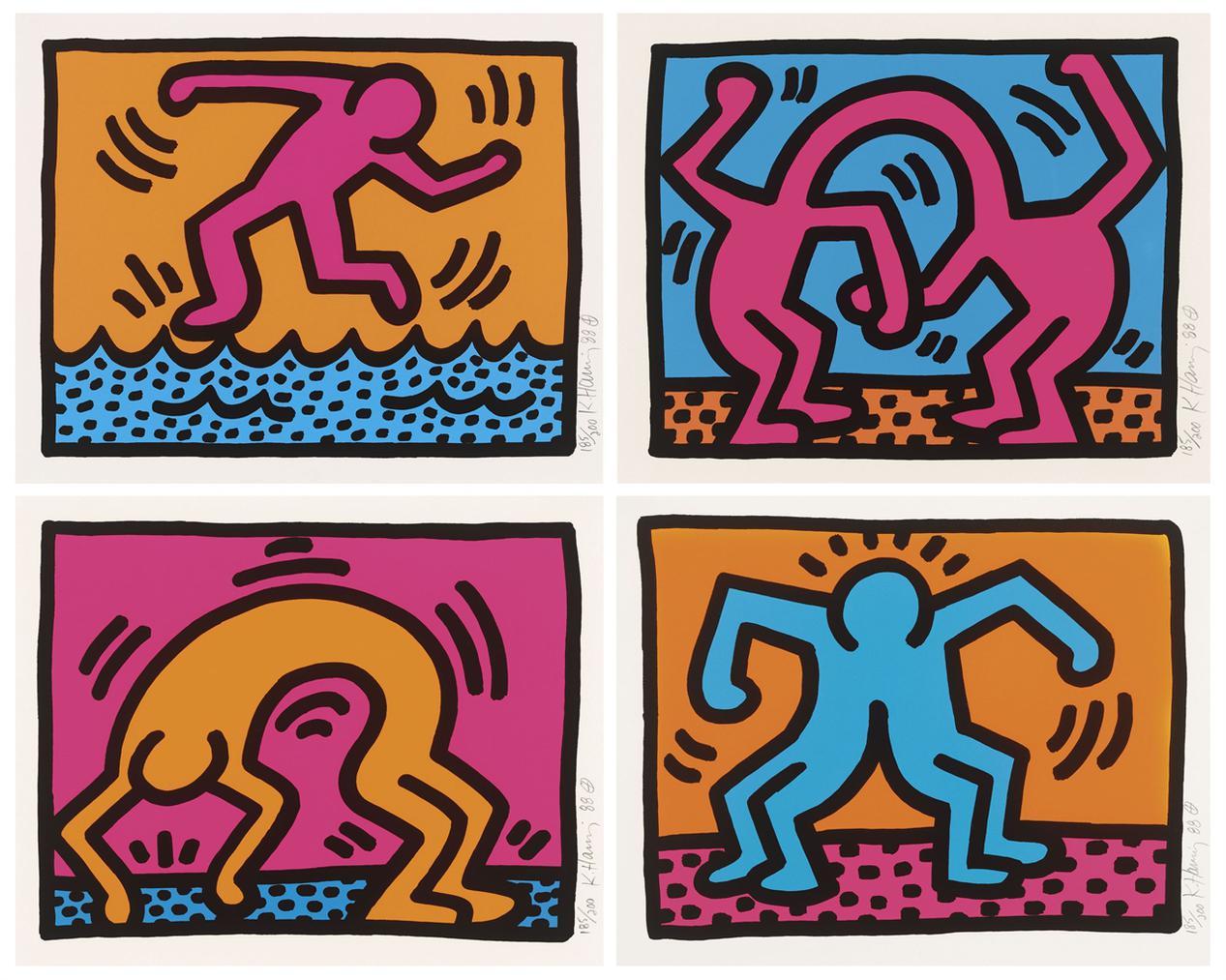 Keith Haring-Pop Shop II-1988