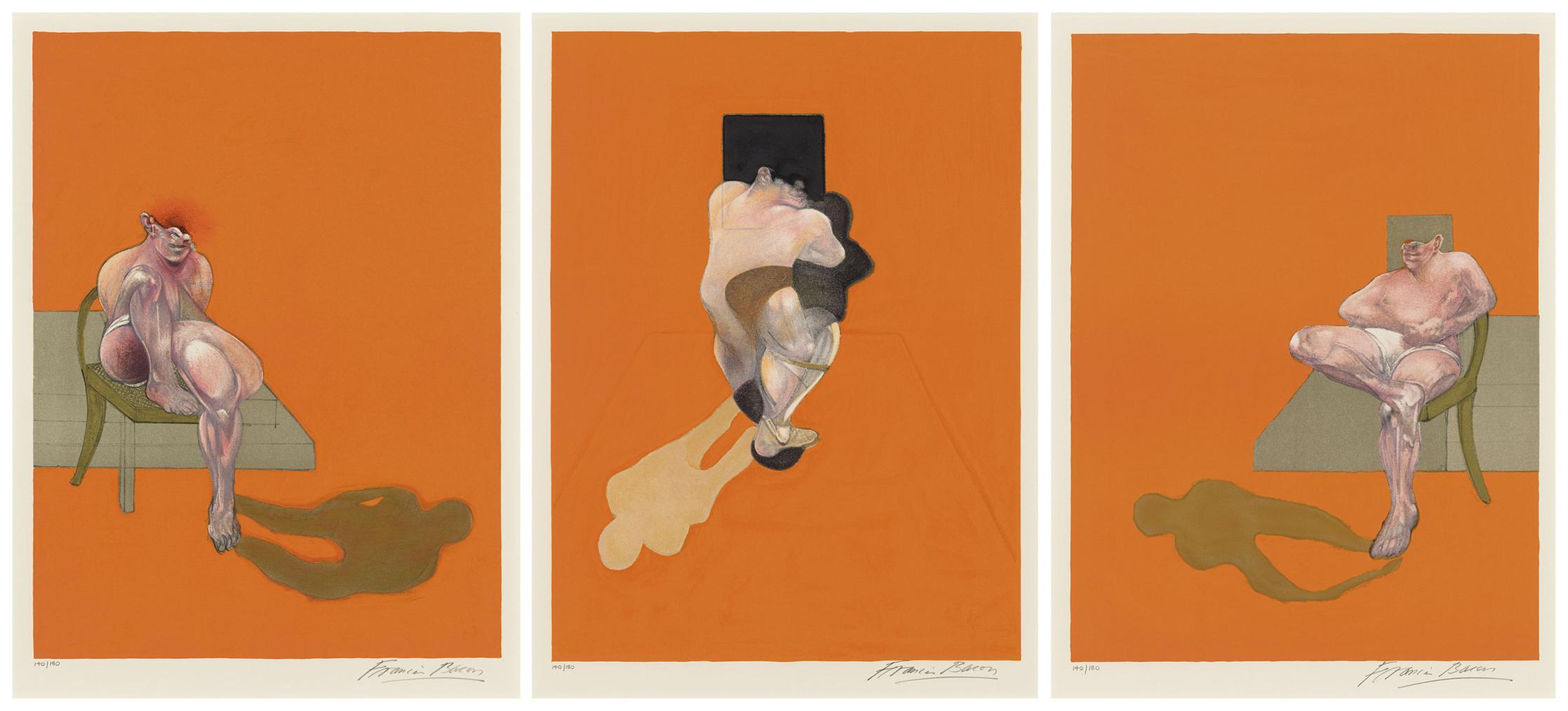 Francis Bacon-Triptych 1983-1983