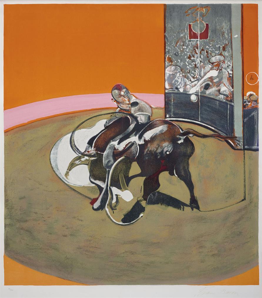 Francis Bacon-Etude Pour Une Corrida-1971
