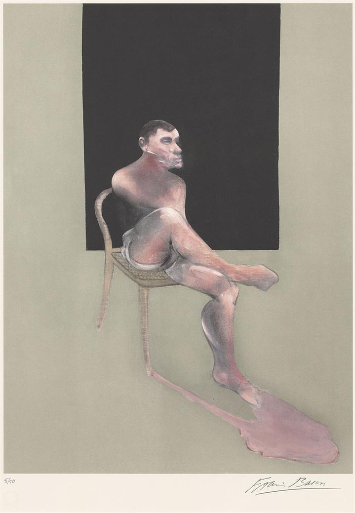 Francis Bacon-After Francis Bacon - Portrait Of John Edwards-2002