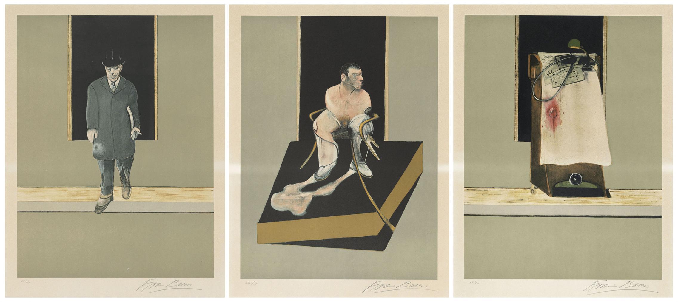 Francis Bacon-Triptych 1986-1987-1983