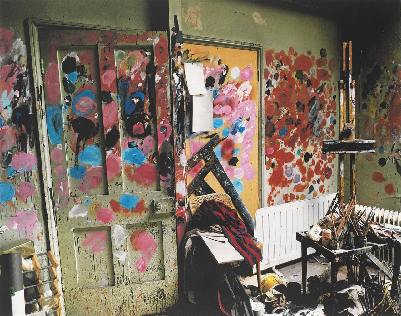 Anonymous - The Removal Of Francis Bacons Studio, 7 Reece Mews, 20-29 July 1998-1998