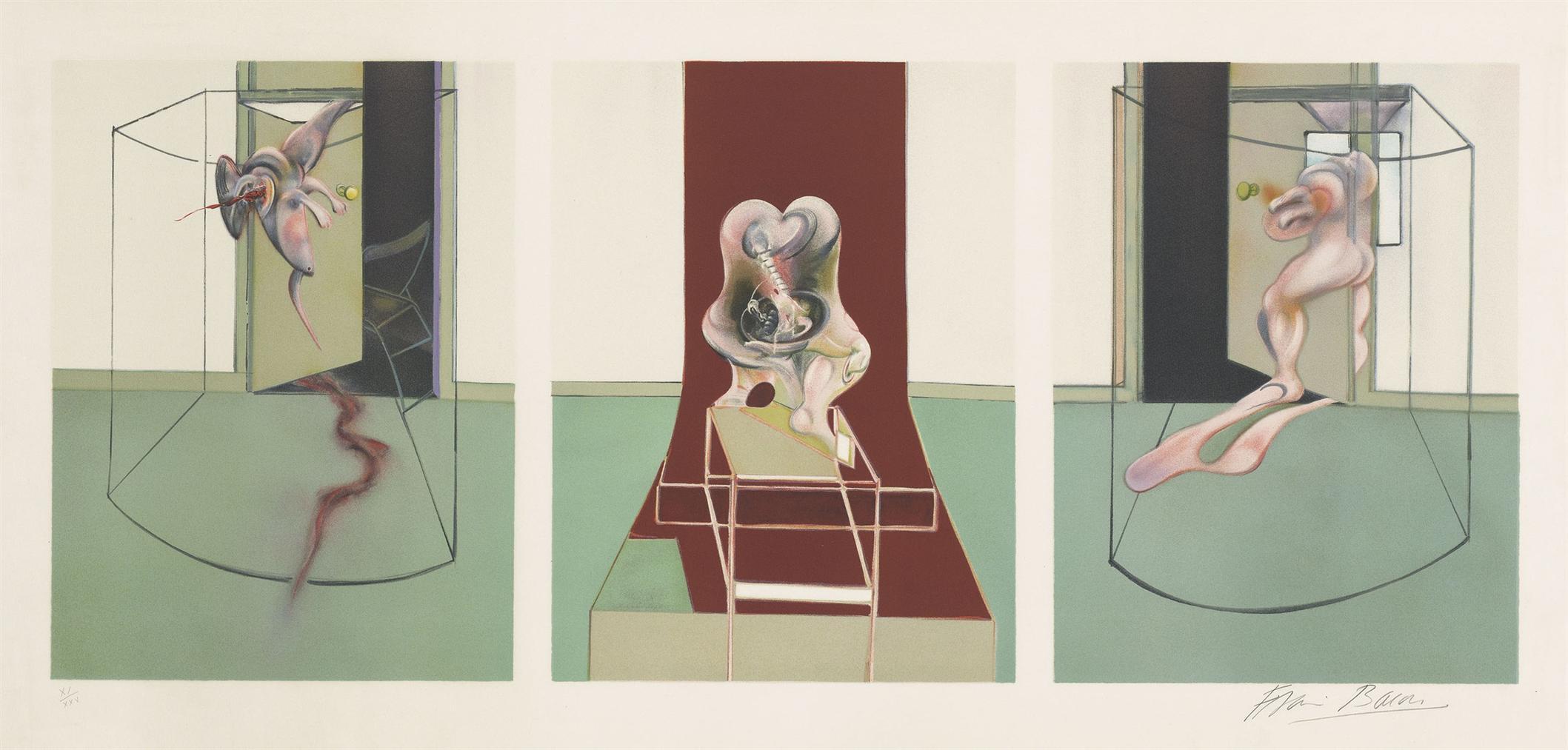 Francis Bacon-Oresteia Of Aeschylus-1981