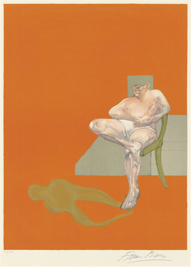 Francis Bacon-Triptych 1983 (Right Panel)-1983