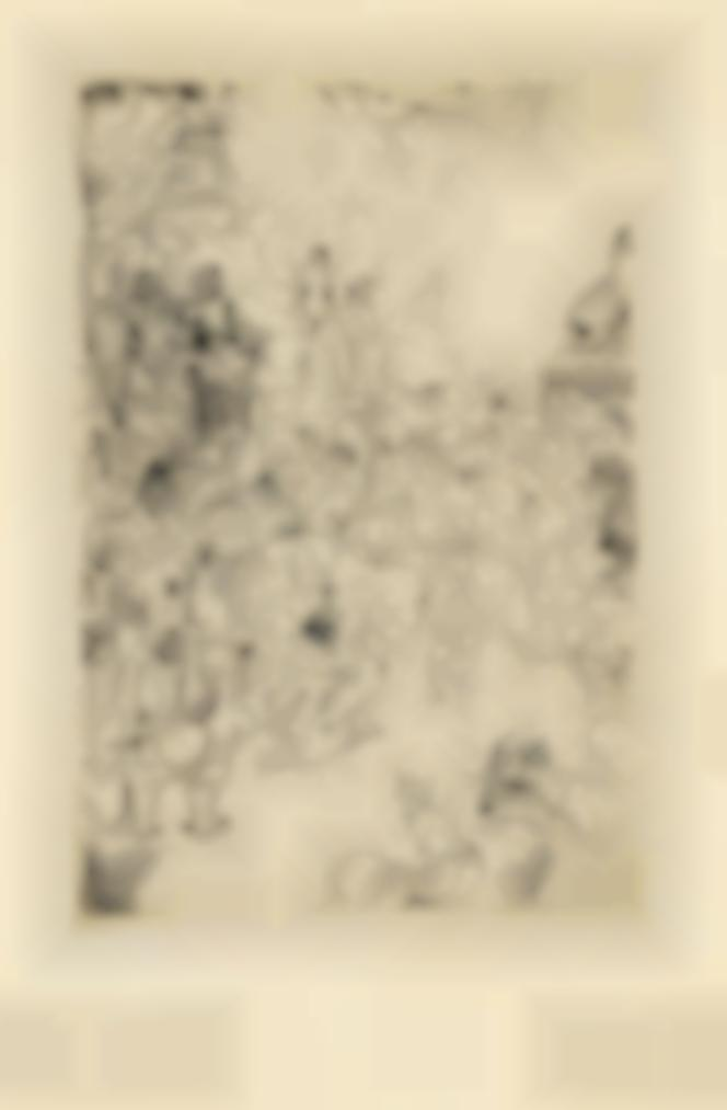 James Ensor-Le Christ Insulte (The Mocking Of Christ)-1886