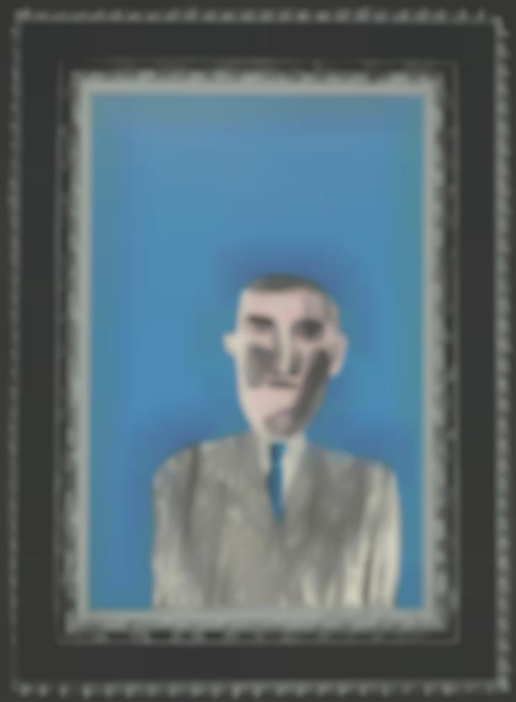 David Hockney-Picture Of A Portrait In A Silver Frame, From: A Hollywood Collection-1965