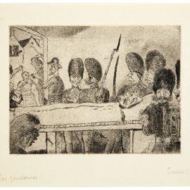 James Ensor-Les Gendarmes-1899