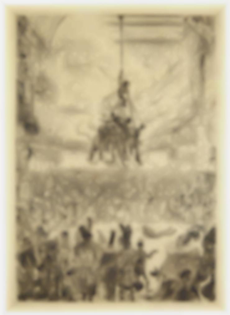 James Ensor-La Vengeance De Hop-Frog (Hop-Frogs Revenge)-1898